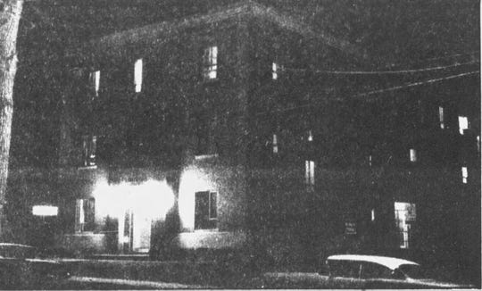 The lights remain on in the Maternity Ward of Binghamton General Hospital in 1962.