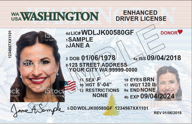 Washington has been issuing enhanced driver's licenses ahead of an Oct. 1 to be in compliance with the REAL ID Act. The state's standard driver's licenses will not be accepted at airports and border crossings starting Oct. 1.