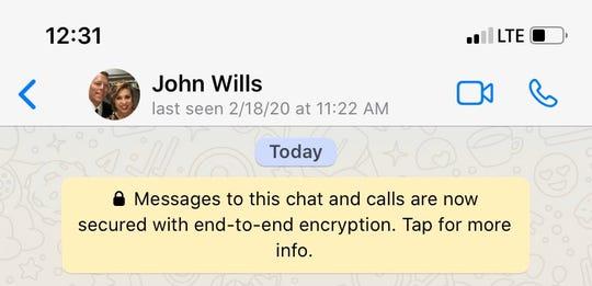 House Speaker Pro Tem John Wills, R-Spirit Lake on WhatsApp
