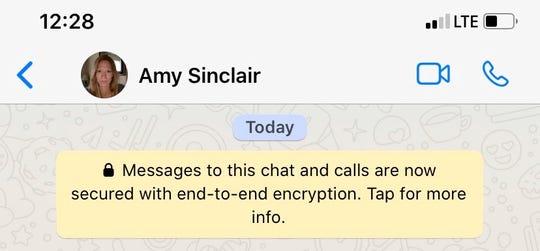Senate Majority Whip Amy Sinclair, R-Allerton on WhatsApp