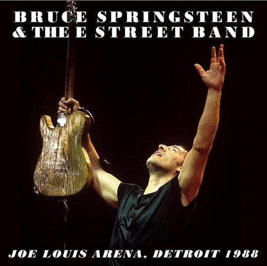 Bruce Springsteen has released a live recording from Joe Louis Arena.