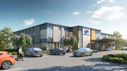 A rendering of the new SSM Health facility to be built just off United States 151 in Beaver Dam.