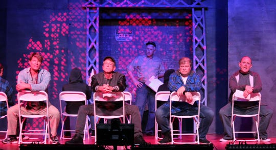 "New Phoenix Theatre's ""The Full Monty"""