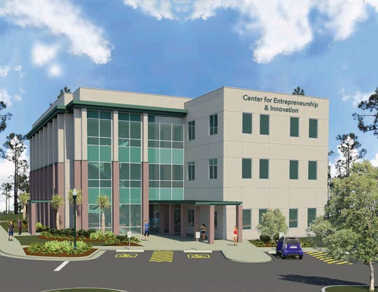 View the 3D rendering of the FGCU Center for Entrepreneurship & Innovation building.
