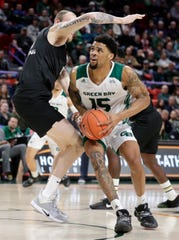 UWGB junior forward Manny Patterson has entered the NCAA transfer portal.
