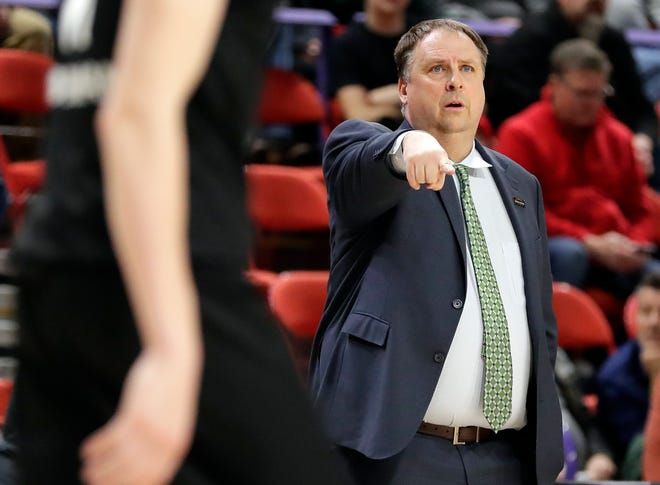 UWGB men's coach Linc Darner and his Phoenix lost to Northern Kentucky in a Horizon League semifinal on Monday.