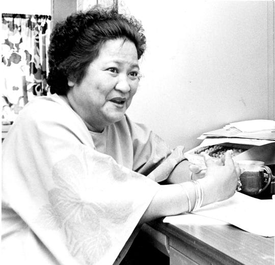 Lorraine M. Aguon, University of Guam Cooperative Extension Service, Aug. 8, 1980