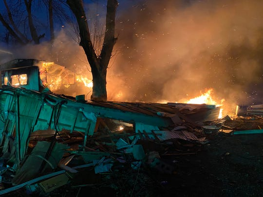 Fire investigators think a fire at an abandoned mobile home park on the west side Friday morning may have been intentionally set.