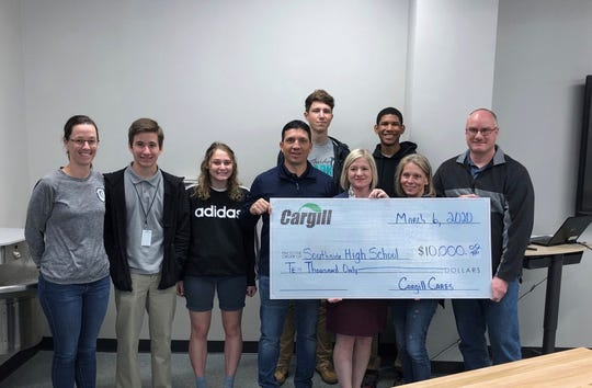Southside High School received a $10,000 grant to purchase two classroom sets of virtual reality and augmented reality technology. The funding came from Cargill Road Safety Avery Island, Cargill Salt Breaux Bridge and a corporate match from Cargill Inc.