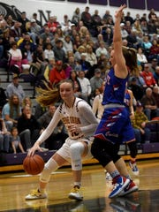 Berne Union junior Bella Kline is the 2020 Eagle-Gazette Girls Basketball Player of the Year.