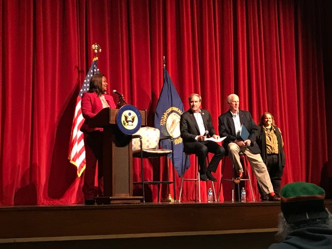 Kentucky leaders gathered for a town hall to discuss solutions to gun violence