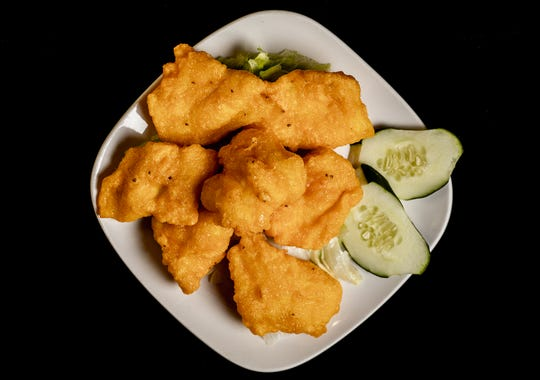 The Talla Fish at Clay Oven Indian Restaurant is boneless fish marinated in sour cream and batter fried. March 5, 2020