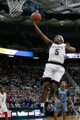Cassius Winston led Detroit Jesuit to a state championship at Breslin Center in March of 2016, a few months before joining the Spartans.