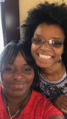 Sariah Metcalfe and her mother, Tamica Frison.