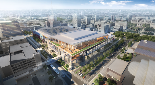 The proposed Wisconsin Center's expansion is facing delays because of financial turmoil tied to the COVID-19 pandemic.