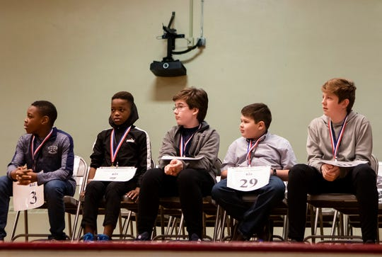 Spellers from all the Ouachita parish schools competed in the All-District Spelling Bee at Ouachita Jr. High in Monroe, La. on March 6. Osey Anumele was this year's winner and will compete in the Scripps National Spelling Bee in May.