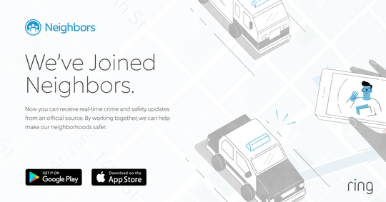 The Morristown Police Department joins Amazon's Ring Neighbors Portal.
