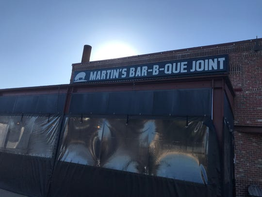 A plan has been submitted to build a Martin's Bar-B-Que Joint in Hendersonville.
