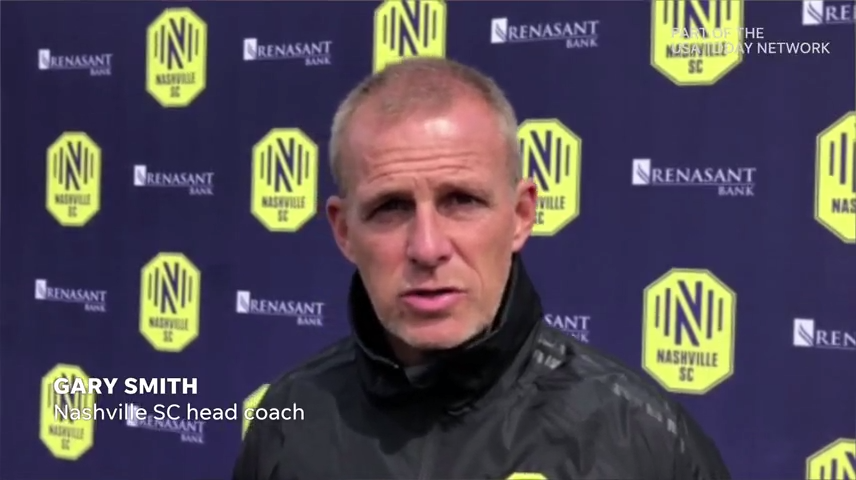 Nashville SC coach Gary Smith reacts to the Tennessee tornado, its effect on players