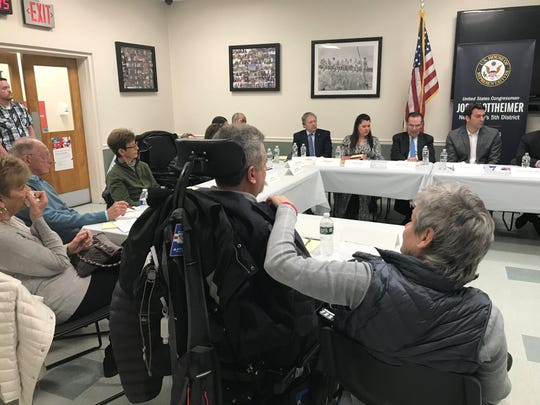 Round table discussion on orphan and rare disease with Congressman  Josh Gottheimer at Zimmer Biomet in Fair Lawn