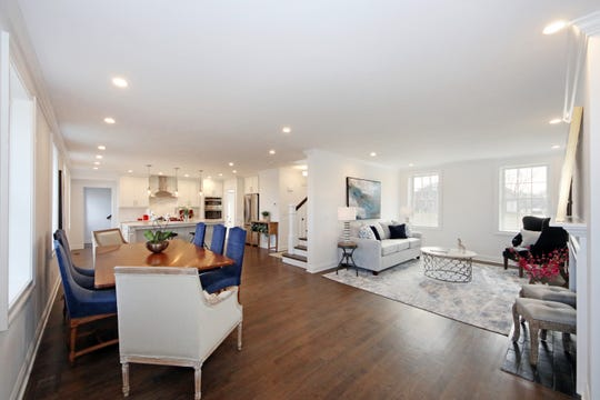 Updated, spacious interiors feature designer elements and modern kitchens in the former officer homes in East Gate at Fort Monmouth.