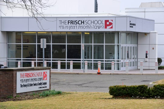 The Frisch School closed due to coronavirus concerns in Paramus, N.J. on Friday March 6, 2020.