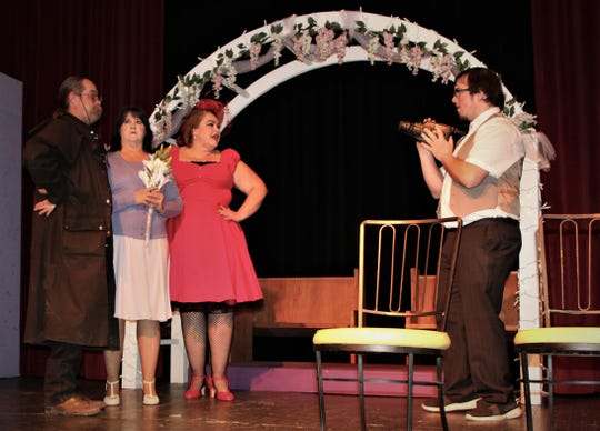 """The Totah Theater in downtown Farmington is home to Theater Ensemble Arts, which recently staged its production of """"Four Weddings and an Elvis"""" at the facility."""