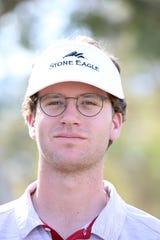 Palm Desert High School golfer Chris Wardrup in Rancho Mirage, Calif., on Thursday, March 5, 2020.