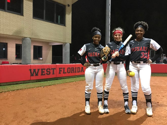 West Florida softball's Kiauna Watson, Makayla Kent and Measia Armstrong are eager to lead the Jaguars to keep the bar set high for the program.