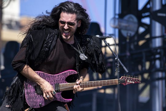 SLWLY performs during McDowell Mountain Music Festival on March 6, 2020, at Margaret T. Hance Park in Phoenix.