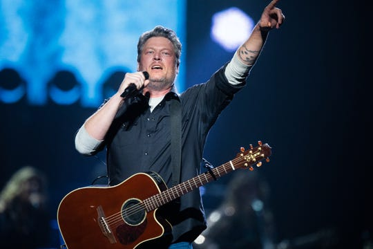 Blake Shelton brings tunes and a party to Gila River Arena in Glendale on March 5, 2020.