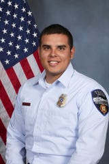 Tempe firefighter Tommy Arriaga.