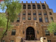 Maricopa County Superior Court building in downtown Phoenix.