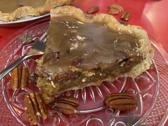 The Naughty Pecan Pie at MacAlpine's Diner & Soda Fountain in Phoenix.