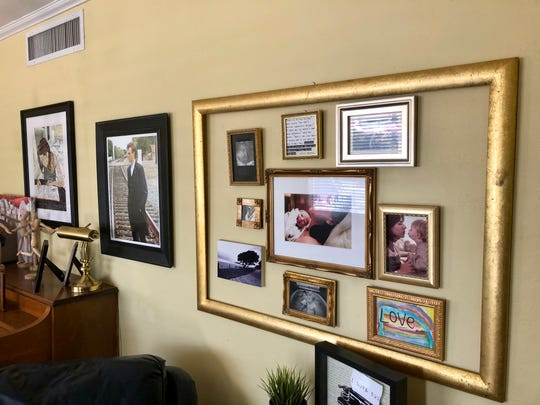Framed pictures cover the walls in nearly every room in my house, run down the hallway and sit on just about every flat surface from the piano to my nightstand.