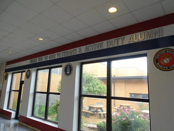 """A """"concerning message"""" reportedly found in a Woodmore High School bathroom led several schools in Ottawa County to go on lockdown on Friday afternoon."""