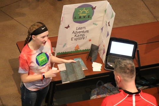 "Maddie Wiechman created ""L.A.K.E. Campground,"" a local business idea for Port Clinton Middle School's Young Entrepreneurs 2020."