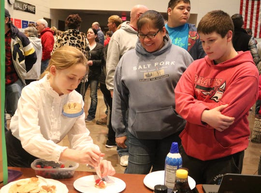 "Gabbie Heilmann created ""Personable Pancakes,"" a local business idea for Port Clinton Middle School's Young Entrepreneurs 2020."