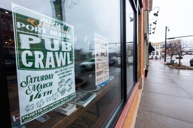 This year's Pub Crawl will be held following the parade Saturday, March 14, in downtown Port Huron.