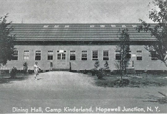 Established in 1923 by the Workmen's Circle, an American Jewish organization that promotes social and economic justice, Camp Kinderland was located at Sylvan Lake in Hopewell Junction. Its dining hall, seen in this vintage postcard was named Red Square. In its early days, the camp was controlled by a communist faction of the group.