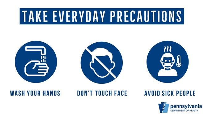 Take precautions against COVID-19