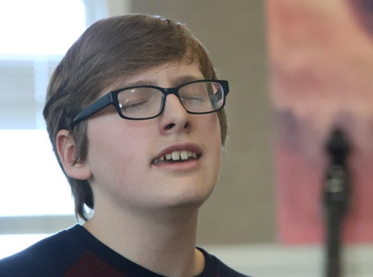 Robbie McFarlane, 15, of Redding loves to sing. Now the U-Prep sophomore has been accepted into an a cappella academy where he'll learn more about singing.