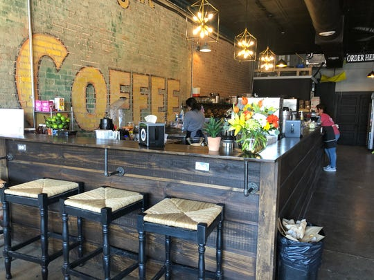 The Grind Brew & Cafeis located at220A N. Chadbourne Street.