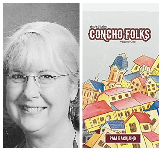 """San Angelo Writers Club President Pam Backlund is the author of """"Concho Folks"""" and will discuss self publishing during the group's next meeting on March 10."""
