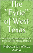 """Rebecca Joy Wilcox Aidala is the author of """"The Eyrie of West Texas."""""""