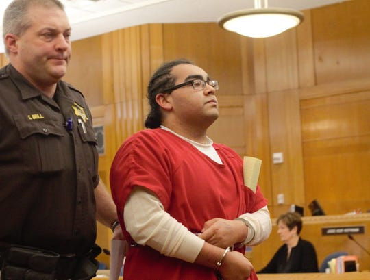 Daniel Mares, 18, appears in Sheboygan County Circuit Court on Friday, March 6, 2020, in Sheboygan, Wisconsin.
