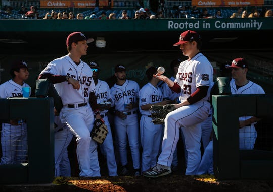 The Missouri State Bears faced off against the Main Black Bears for their home opener at Hammons Field on Friday, March 6, 2020.