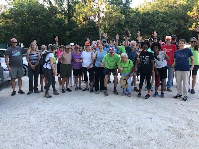 Move walk hits the Lake Heritage Trail on Saturday.