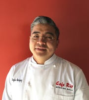 Douglas Henriquez is corporate chef for Cafe Rio Mexican Grill.