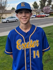 Exeter High baseball player Dylan See was voted by readers as the Visalia Times-Delta Tulare County prep athlete of the week.